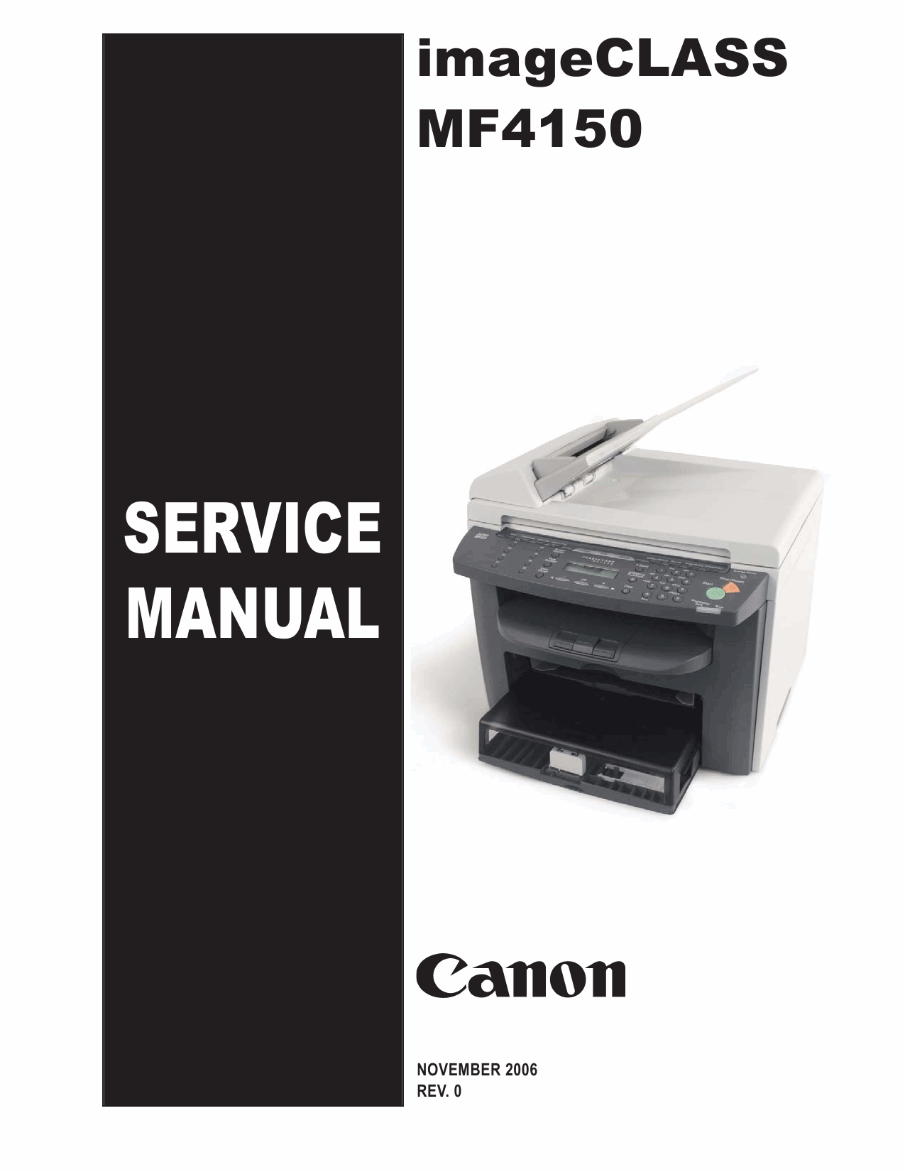 Canon imageCLASS MF-4150 Service and Parts Manual-1